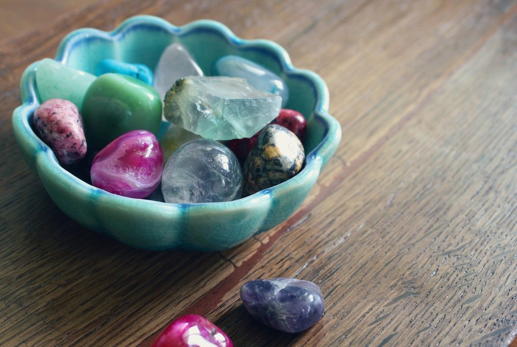 crystals and self care