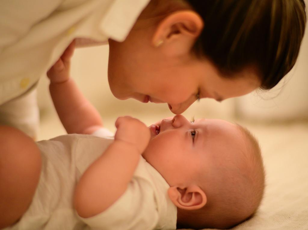 Photo of mother and baby