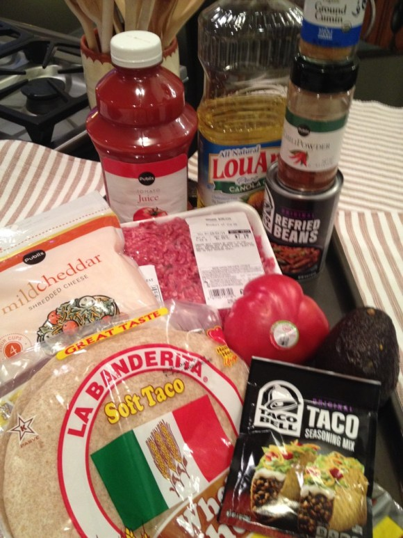 Items for Burrito Supreme Casserole