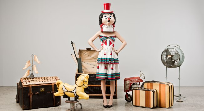 Nadia-Tarr-Vintage-Finds-Clown-Dress