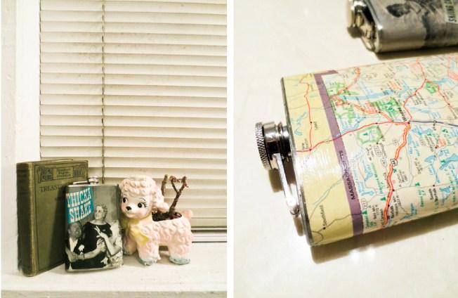 Foxboxes, vintage inspired flasks | tide & bloom