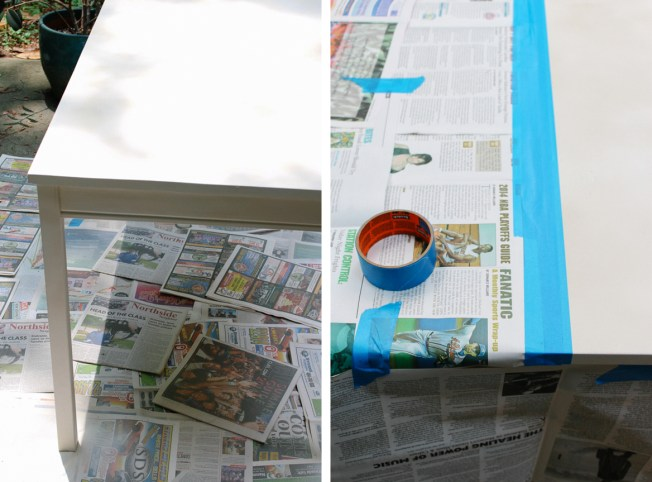 patio-table-diy-taping