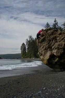Beachside Bouldering @ Sombrio Beach