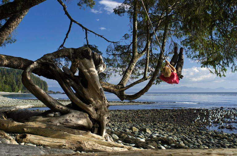 Seaside Swinging