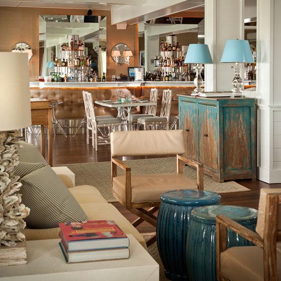 Restaurant lobby area