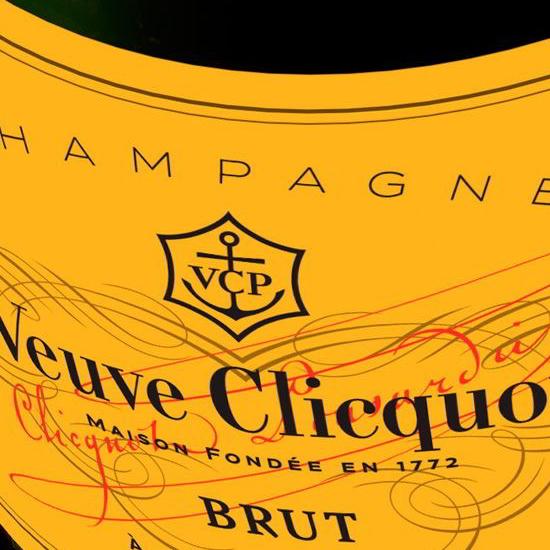 Veuve Clicquot label