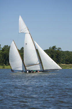 Sailing in Talbot County Maryland