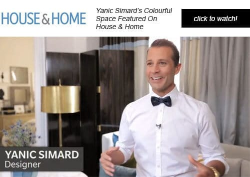 Yanic Simard featured on House & Home