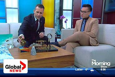 Yanic Simard on Global News Morning Show