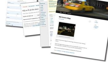 Skapa blogg på mindre än 30 minuter