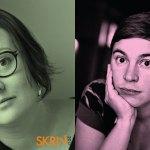 Elin Boardy och Jessica Schiefauer på Skriv2017