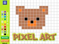 Coloriage En Ligne Par Pixel Tidou Fr