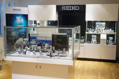 Showroom for Seiko.