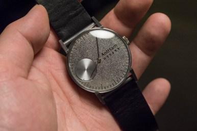 Marius' egenproduserte klokke.