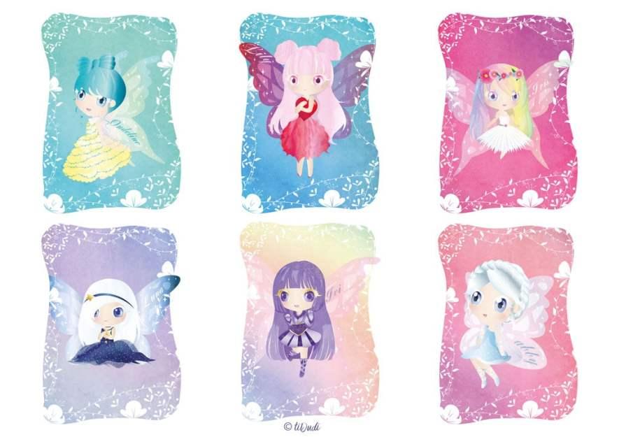 livre de coloriage des fées de la forêt enchantée par tiDudi