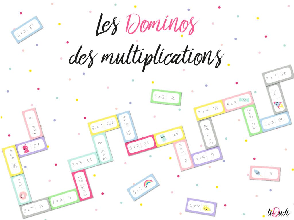 Dominos des multiplications