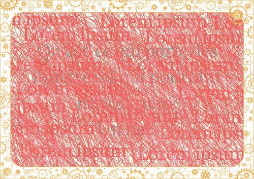 Message codé filtre rouge escape game tiDudi