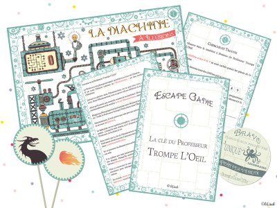 Escape game des vacances