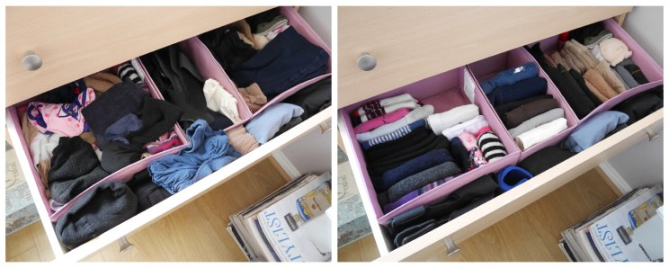 Socks drawer