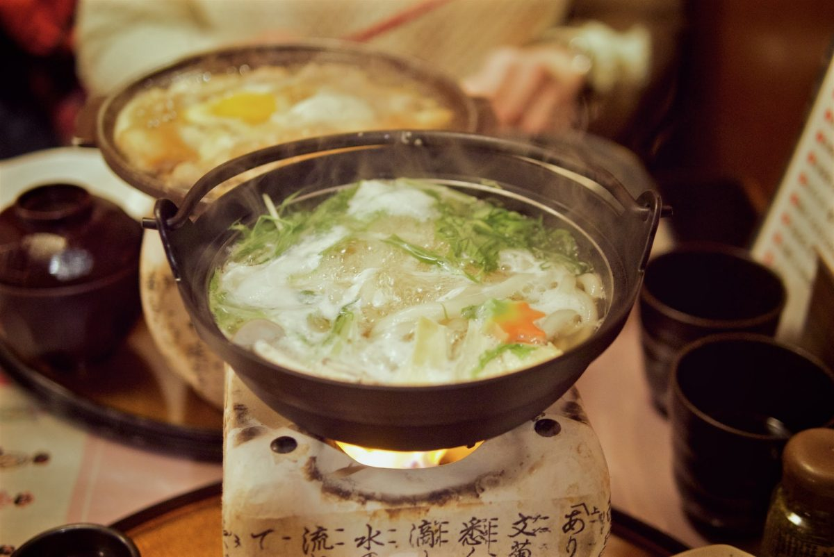 hot pot in japan