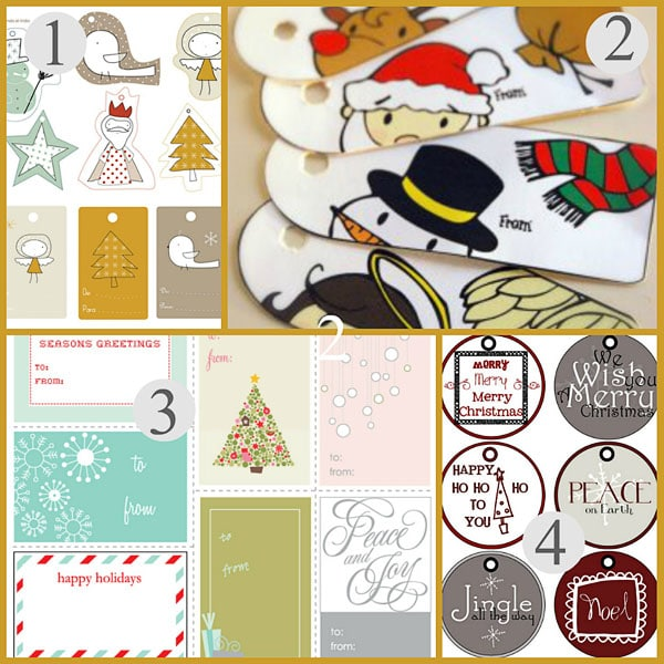 Free personalized christmas gift tags and gift stickers christmas gift tags negle Image collections