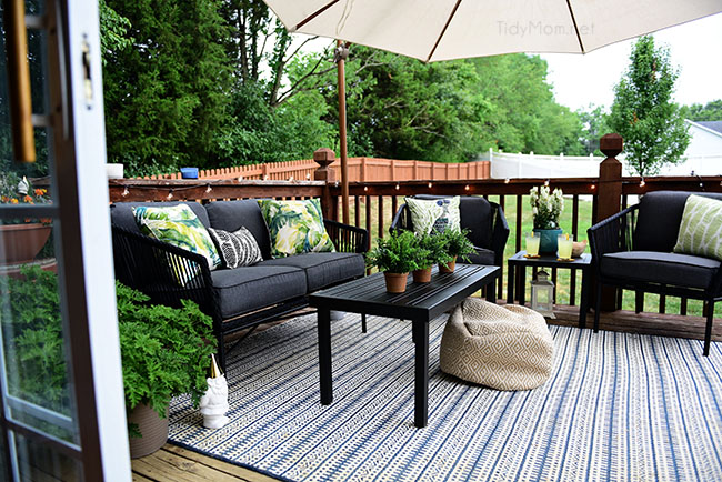 maximize outdoor space learn how to decorate a small deck tidymom