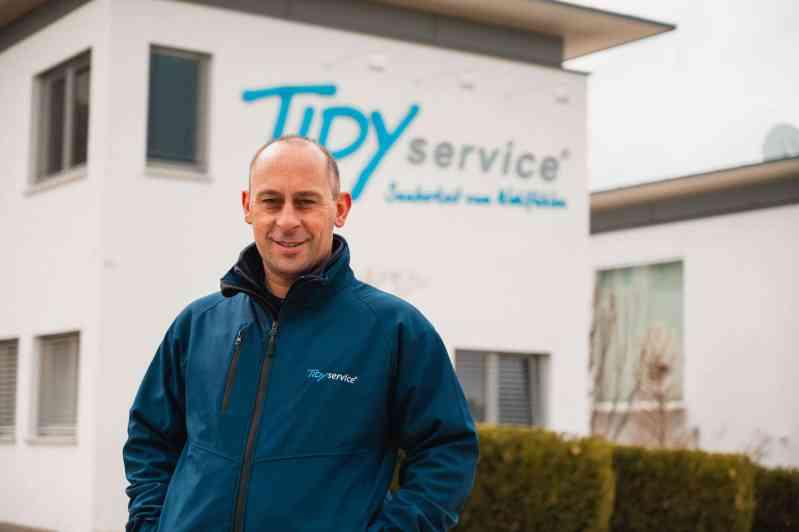 Mitarbeiter von TIDYservice