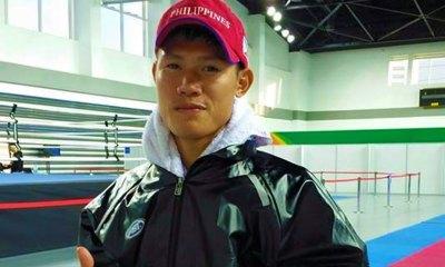Tiebreaker Times Phillip Delarmino advances to Muay Thai -57kg finals Muay Thai News Taekwondo Weightlifting Wrestling  Phillip Delarmino 2017 Asian Indoor and Martial Arts Games
