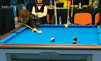 Tiebreaker Times Rubilen Amit continues to roll, makes it to the Final Four Billiards Chess Muay Thai News Wrestling  Rubilen Amit Robin Catalan 2017 Asian Indoor and Martial Arts Games