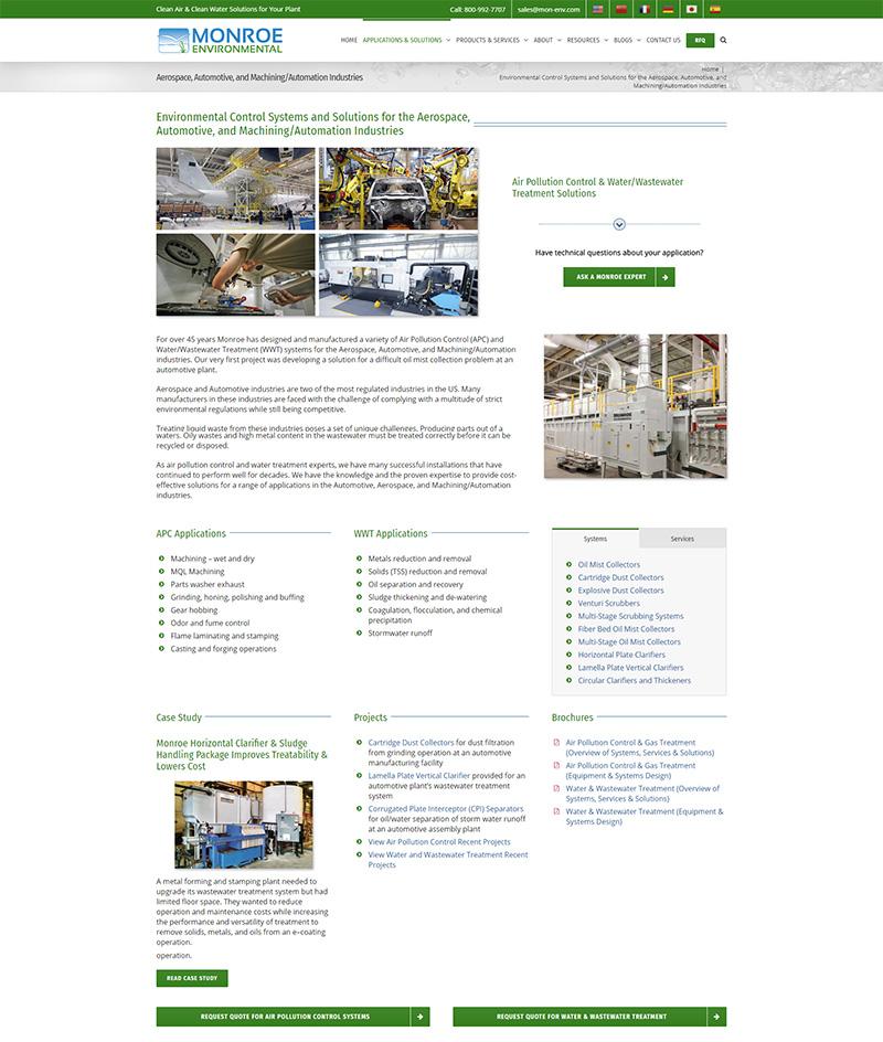 MEC aerospace page