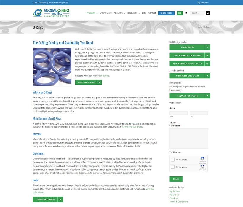 E-Commerce Website Redevelopment