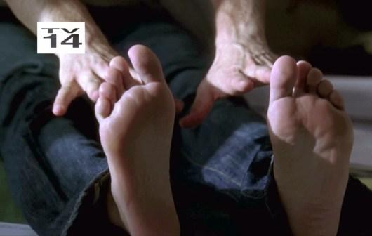 Mark-Paul Gosselaar giant soles only