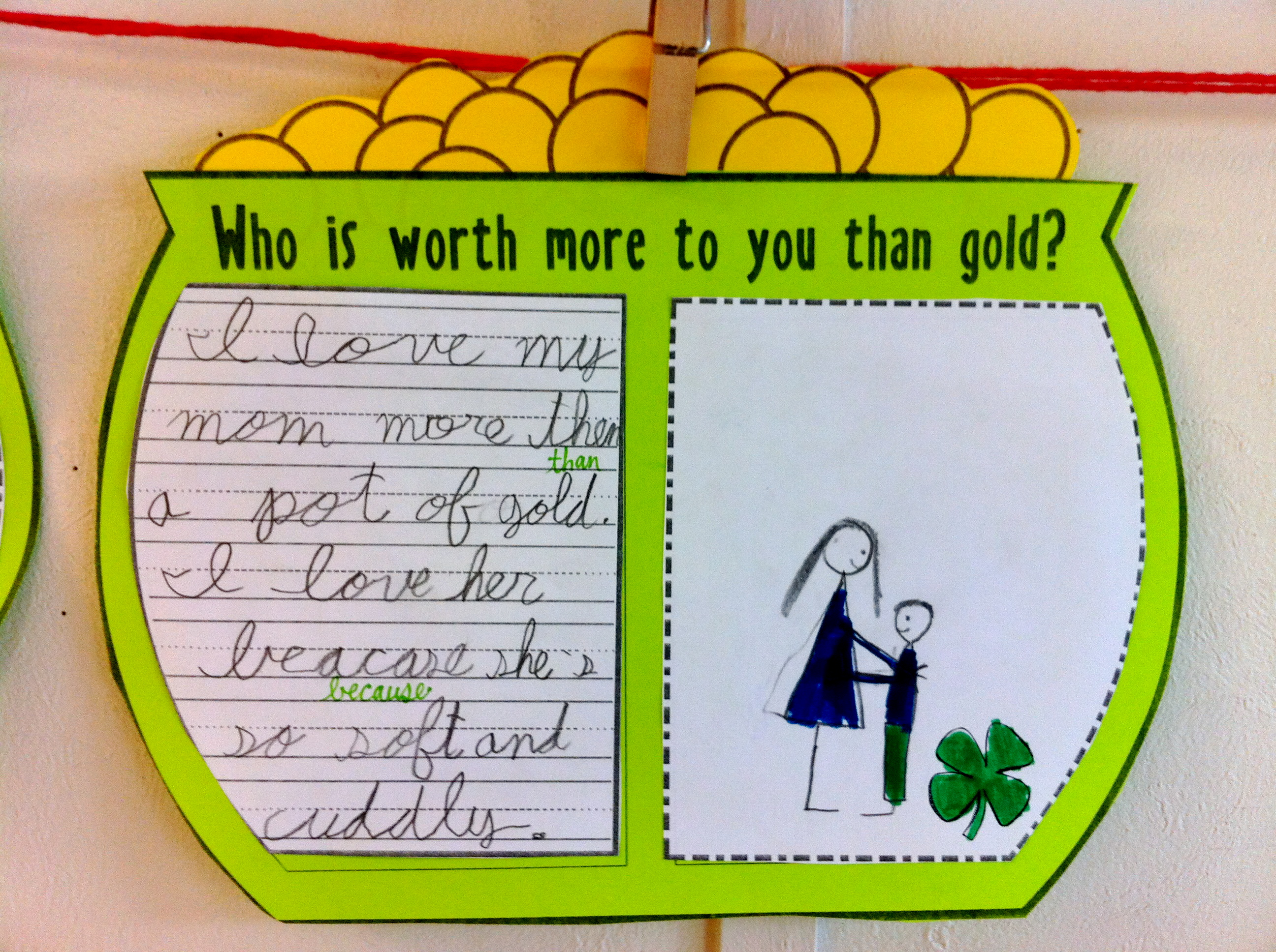 St Patricks Day Worksheets First Grade St Best Free