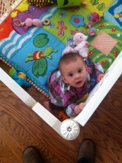 Yay for play yards!