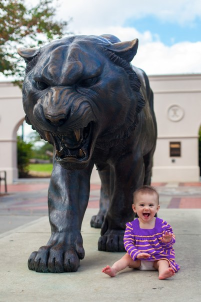 First trip to LSU!