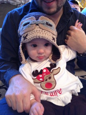 ADVENTURE IS OUT THERE! Thanks Nanny for my Ellie hat!