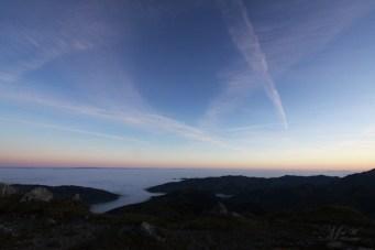 Nebelmeer unter der Kaiseregg, 2011