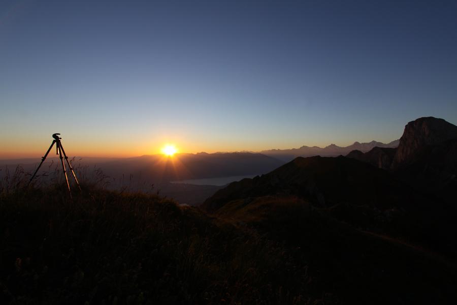 ...doch kurz dannach geht die Sonne auf :-)