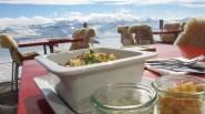 Mittagessen im Berghaus Niederhorn