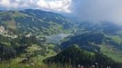 Tiefblick auf den Schwarzsee