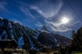 Matterhorn im Gegenlicht