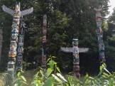 Totempfähle im Stanley Park