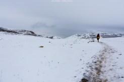 Wintereinbruch am Parker Ridge Trail