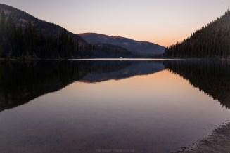 Morgenstimmung am Lightning Lake