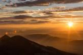 Kurz nach Sonnenaufgang