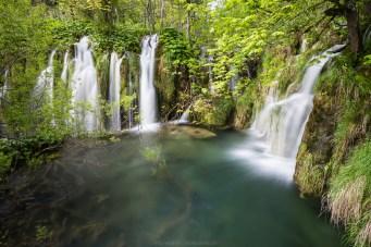 Einer der oberen Wasserfälle