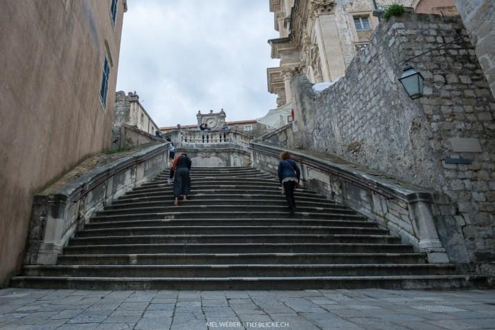 Treppe walk of shame