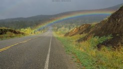 Regenbogen am Klondike Hwy