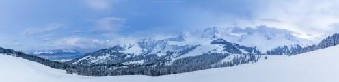 Gurnigel-Panorama aus 8 Einzelaufnahmen