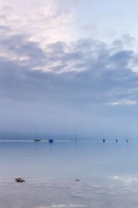 Schiffe im Thunersee